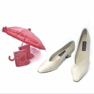 "Stuart Weitzman 1.75 "" Block Heel Shoes Sz 11 AA"